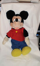 "Disney MIckey Mouse Stuffed Doll 12"" Applause"
