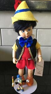Pinocchio & Jiminy Cricket Wood Wooden Jointed Madame Alexander 48705 Box Ltd.