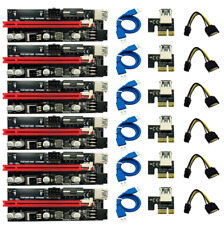 GPU PCIe Riser Ver009s Mining 3060/3070/3080/3090 Deutscher Händler 6 Stück