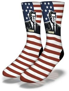 Donald Trump Flag Savvy Socks Brand New With Tags Straight From Production Line