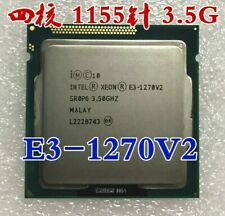Intel Xeon E3-1270 V2 E3-1270V2 LGA1155 3.5GHz 8MB Cache Quad Core CPU Processor