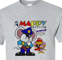Mappy distressed T-shirt retro vintage 80's 70's old school video arcade game