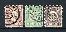 NEDERLAND 30/31-33 gestempeld 1876-1894 - Cijfer