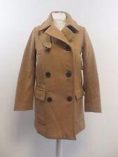 Gap Women Wool Peacoat Camel Size S RRP £120 Box46 70 A