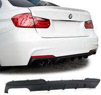 diffuser for BMW F10 F11 520 525 530 rear M Sport bumper Spoiler Performance Lip