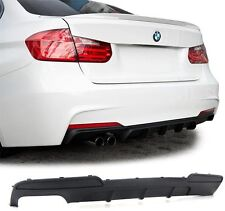 BMW F10 F11 520 525 530 M Performance diffuser for rear Sport bumper Spoiler i D