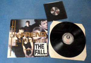 "LP The Fall Mark E. Smith The Frenz Experiment 1press UK Bega 91 incl. 7"" Fall 1"