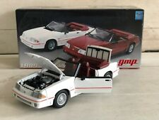 Old Limited GMP 1989 FORD MUSTANG GT CONVERTIBLE 1:18 Black top.