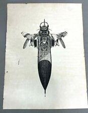 1976 Us Air Force F-4 Phantom Print