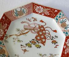 IMARI, très belle assiette en porcelaine d'imari, japon, COMPAGNIE des INDES .