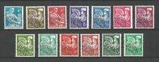 FRANCE 1953-1959 .. Precancels Stamps Y.T. n° 106-118 MNH ** 110€