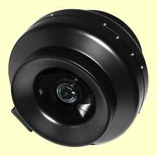 """4"""" Inline ceramic-coated metal Exhaust Fan hydroponics ventilation high output"""