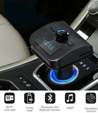Wireless Bluetooth Car MP3 FM Transmitter SD AUX LCD USB Charger Handsfree Kit