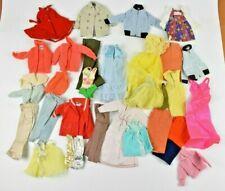Vintage Barbie Clothes Lot of 29 Blouses Sweaters Dresses Pants Skipper Francie