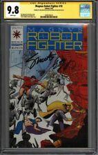 * Magnus ROBOT Fighter #10 CGC 9.8 Signed Shooter Layton (1600105014) *