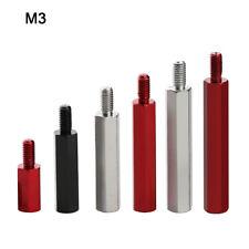 M3 Aluminum Alloy Male To Female Hex Hexagon Pillar Threaded Standoff Spacer PCB