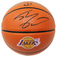 Shaquille O'Neal Signed Spalding Los Angeles Lakers Logo NBA Basketball - SS COA