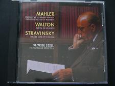 MAHLER SYMPHONY 10, STRAVINSKY Firebird Suite, Walton-Szell-SACD