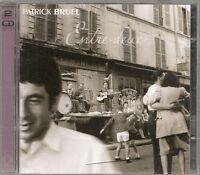2 CD ALBUM 24 TITRES--PATRICK BRUEL--ENTRE DEUX--2002