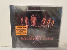 The Three Musketeers [NEW Soundtrack CD] Michael Kaman, Bryan Adams, Rod Stewart