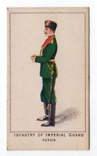 UK Trade Card Kings Specialities War Series Infantry Of Imperial Guard Russia