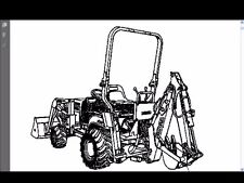 KUBOTA BT600 PARTS MANUAL for BT 600 Tractor Backhoe Part Numbers & Diagrams