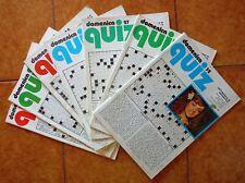 Domenica Quiz - Settimanale enigmistica vintage - Anni '70