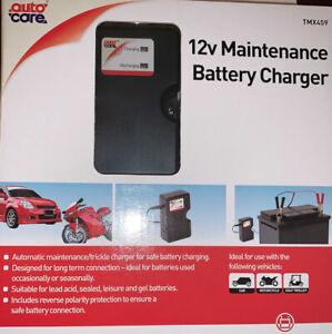 Auto Care 12v Maintenance/Trickle Charger. TMX459