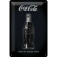 Blechschild Coca Cola Sign Good Taste,Nostalgie Schild 30 cm ,NEU,metal shield