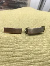 WWII 2ND LT BARS SHIRT COLLAR GARISSON CAP HALLMARKED