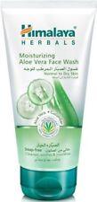 Himalaya Moisturizing Aloe Vera Face Wash Gel Tones And Softens Skin 150ml