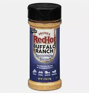 Frank's RedHot Seasoning Blend Buffalo Ranch, 4.75 oz Exp 4/30/22