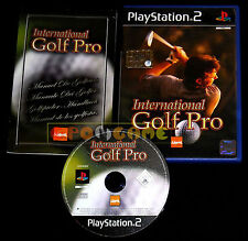 INTERNATIONAL GOLF PRO Ps2 Versione Italiana ••••• COMPLETO
