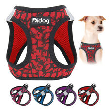 Step in Dog Harness Small Adjustable Puppy Vest Harness Reflective Padded Yorkie