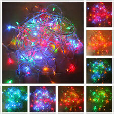 New Multi Color 10M 100LED Christmas Fairy Party String Lights Wedding Decor US