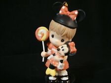 yc Precious Moments-Disney Theme Park Only Exclusive Ornament-Girl/Minnie Mouse