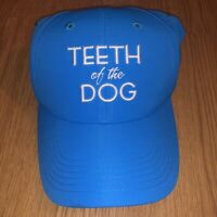 Light Blue Teeth Of The Dog Embroidered Strapback Hat Cap Adjustable IMPERIAL