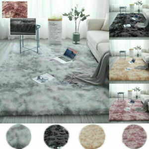 Fluffy Rug Anti-Slip SHAGGY RUGS Super Soft Carpet Mat Living Room Bedroom A1