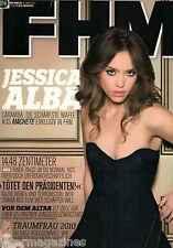 FHM Dezember 12/2010,Jessica Alba,Eliska Podlipna,Maybach 57S,Barack Obama