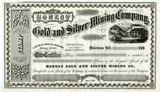 New Listing186_ Honest Gold & Silver Mining Stock Certificate