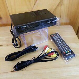 ZJBox Digital Tv Converter Box For Analog HDTV Live 1080P