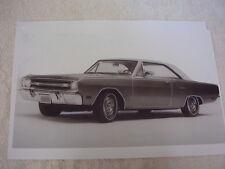 1969 DODGE DART GT 2 DOOR HARDTOP  11 X 17  PHOTO  PICTURE