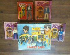 "Mego Vintage 1976 HTF FONZIE GARAGE Complete! W/ All 4 8"" Happy Days Figures"