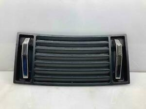 2003-2009 Hummer H2 Hood Vent Grille Louver Panel Chrome Handles OEM 15063080