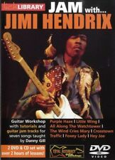 Lick Library JAM WITH JIMI HENDRIX Guitar Lesson Video 2 DVD & Backing Tracks CD