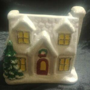 Bath & Body Works Christmas House Hand Soap Holder Sleeve