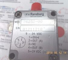 Ransburg 76252-00 Flowmeter Sensor