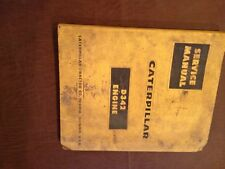 CATERPILLAR CAT D342 DIESEL INDUSTRIAL ENGINE MARINE SERVICE MANUAL