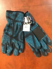 NWT PATAGONIA Synch Shale: Navy Blue Gloves Unisex Size L
