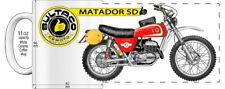 "BULTACO MATADOR SD MOTORCYCLE ""HIGH DETAILED"" IMAGE COFFEE MUG"